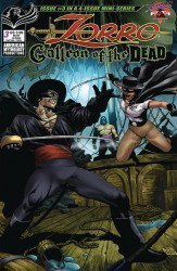 American Mythology's Zorro: Galleon of the Dead Issue # 3