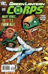 DC Comics's Green Lantern Corps Issue # 23