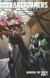 IDW Publishing's Transformers: Galaxies Issue # 7b