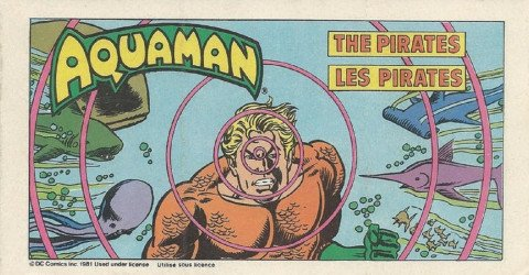 DC Comics's DC Super Heroes: Canadian Post Cereal Giveaway Issue aquaman