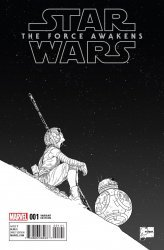 Marvel's Star Wars: Episode VII: The Force Awakens Adaptation Issue # 1d
