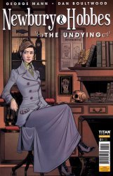 Titan Comics's Newbury & Hobbes: The Undying Issue # 1b