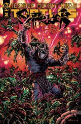 IDW Publishing's Teenage Mutant Ninja Turtles: Shredder in Hell Issue # 2b