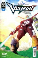 Lion Forge Comics's Voltron: Legendary Defender Issue # 4b