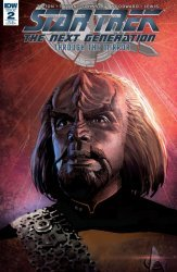 IDW Publishing's Star Trek the Next Generation: Through the Mirror Issue # 2ri-b