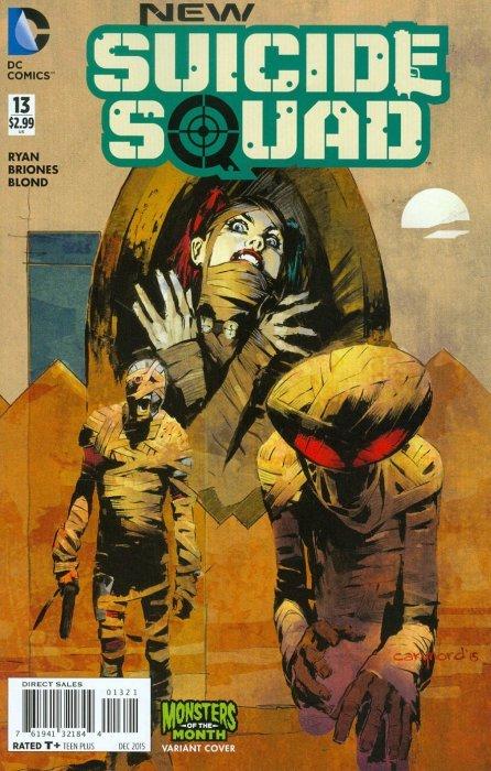 DC COMICS, DEC 2015 NEW SUICIDE SQUAD # 13 NM//M NEW