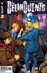 Valiant Entertainment's Delinquents Issue # 3b