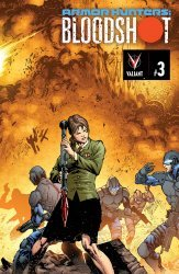 Valiant Entertainment's Armor Hunters: Bloodshot Issue # 3c