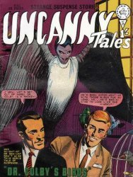 Alan Class & Company's Uncanny Tales Issue # 25
