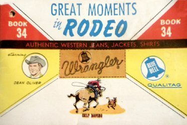 American Comics Group's Wrangler: Great Moments in Rodeo Issue # 34