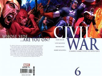 Marvel Comics's Civil War Issue # 6