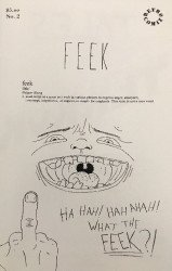 Retro Comix's Feek Issue # 2
