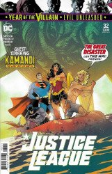 DC Comics's Justice League Issue # 32