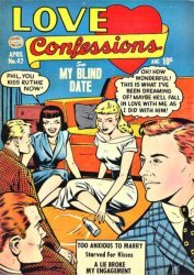 Quality Comics Group's Love Confessions Issue # 42