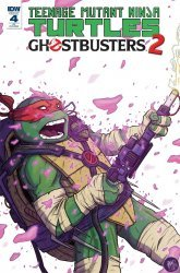 IDW Publishing's Teenage Mutant Ninja Turtles / Ghostbusters II Issue # 4c