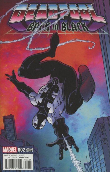 Marvel Deadpool Back in Black issue 1 (2015) (B8)