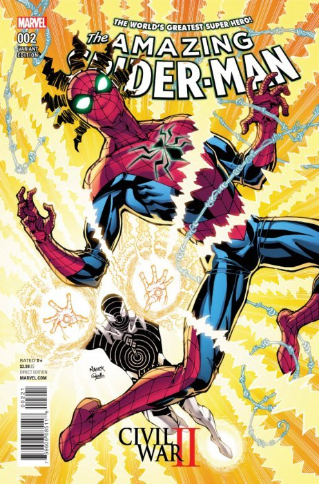 Civil war ii the amazing spider man 2 marvel comicbookrealm com