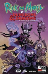 Oni Press's Rick and Morty vs Dungeons & Dragons: Chapter II - Painscape Issue # 4