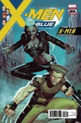 Marvel Comics's X-Men Blue Issue # 23