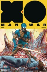 Valiant Entertainment's X-O Manowar Issue # 22d