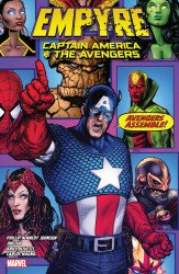 Marvel Comics's Empyre: Captain America And The Avengers TPB # 1