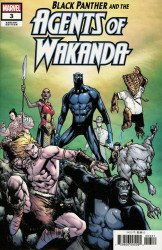 Marvel Comics's Black Panther and the Agents of Wakanda Issue # 3b