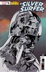 Marvel Comics's Silver Surfer: The Best Defense Issue # 1-2nd print