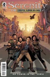 Dark Horse Comics's Serenity: No Power in The 'Verse Issue # 2b