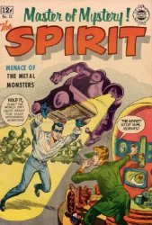 Super Comics's The Spirit Issue # 12
