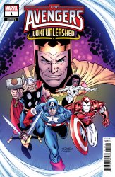 Marvel Comics's Avenger's: Loki Unleashed Issue # 1b