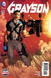 DC Comics's Grayson Issue # 19b