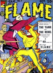 Fox Publications's The Flame Issue # 7