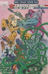 IDW Publishing's Transformers vs G.I. Joe Issue # 0