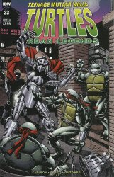 IDW Publishing's Teenage Mutant Ninja Turtles: Urban Legends Issue # 23