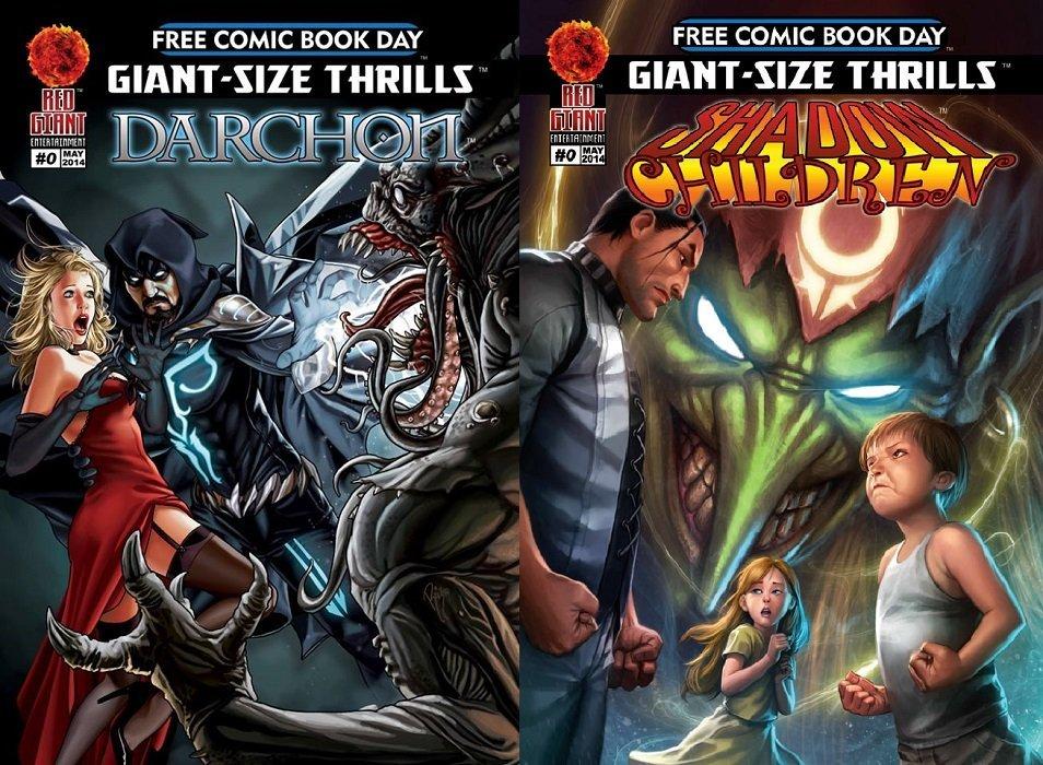 Giant-Size Thrills: Darchon / Shadow Children 0 (Red Giant ...