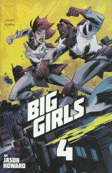 Image Comics's Big Girls Issue # 4