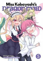 Seven Seas Entertainment's Miss Kobayashi's Dragon Maid Soft Cover # 5