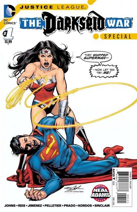 DC Comics's Justice League: Darkseid War Special Issue # 1b