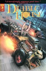 IDW Publishing's Diablo House Issue # 3