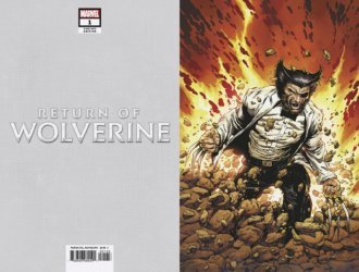 Marvel Comics's Return of Wolverine Issue # 1s