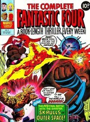 Marvel UK's Complete Fantastic Four Issue # 5