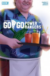 BOOM! Studios's Saban's Go Go Power Rangers Issue # 17b