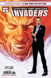 Marvel Comics's Invaders Issue # 8