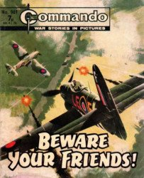 D.C. Thomson & Co.'s Commando: War Stories in Pictures Issue # 961