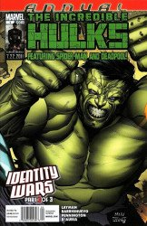 Marvel Comics's Incredible Hulks Annual # 1b