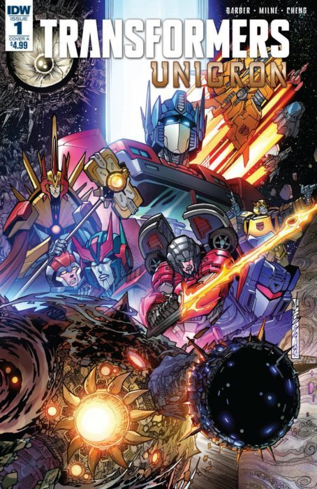 Transformers: Unicron Issue # 1 - 2nd print (IDW Publishing)