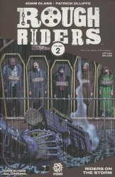 After-Shock Comics's Rough Riders: Riders On the Storm TPB # 1