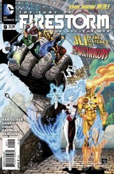 DC Comics's Fury of Firestorm: The Nuclear Men Issue # 9