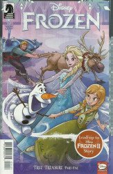 Dark Horse Comics's Disney Frozen: True Treasure Issue # 1b