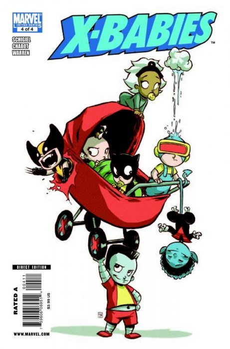 X-Babies 1 (Marvel) - ComicBookRealm.com X Babies Nightcrawler